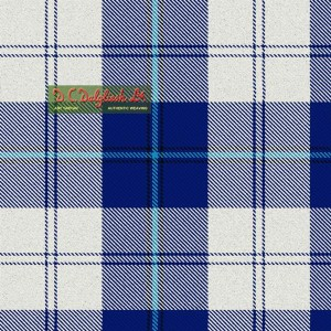 Tartan - Cunningham Royal Blue Dress