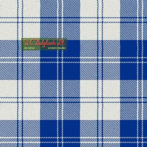 Tartan - Erskine Royal Blue Dress