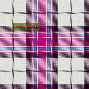 Tartan - MacKellar Cerise Dress
