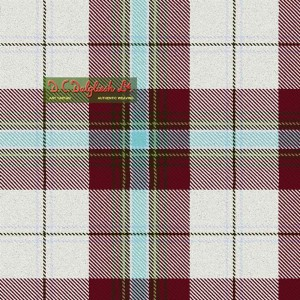 Tartan - MacLean of Duart Burgundy Dress
