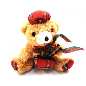 Musical Bagpiper Teddy