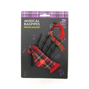 Bagpipes Musical Fridge Magnet