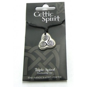 Celtic Pewter Necklace