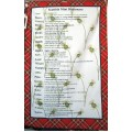 Tea Towel - Scottish Dictionary
