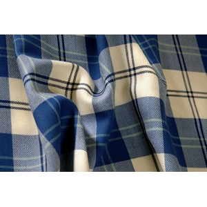 Tartan - Bruichheath Ailsa Royal Blue