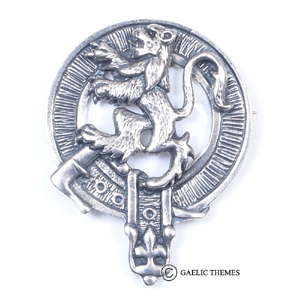 Glengarry Badge - Lion Rampant
