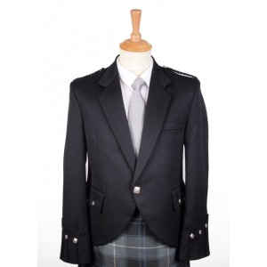 "Argyll Jackets - Black 44"" & 50"" Chest"