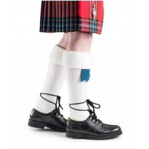 Hose - Piper Sock 'White'