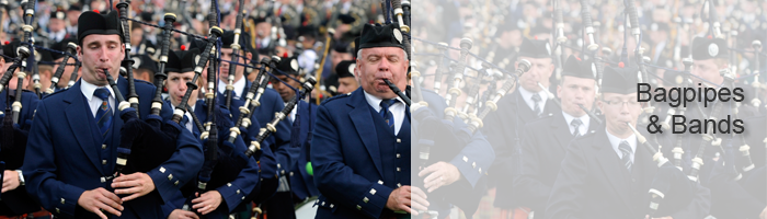 Bagpipes and Bands