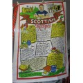 Tea Towel - Scottish Recipes