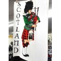 Tea Towel - Scottish Piper
