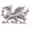 Glengarry Badge - Welsh Dragon