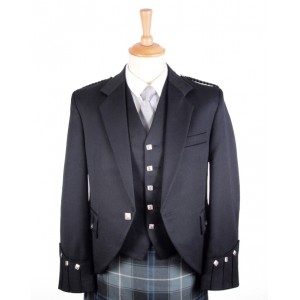 Argyle Jacket (Barathea) - Made to Measure