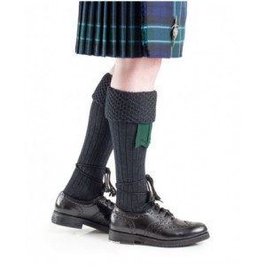 Hose - Piper Sock 'Charcoal'